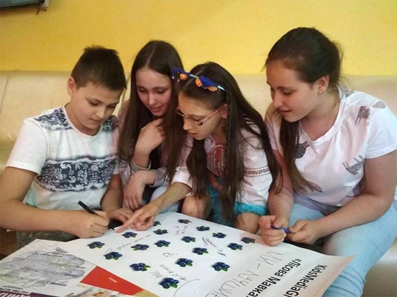 Херсонские школьники снимают кино