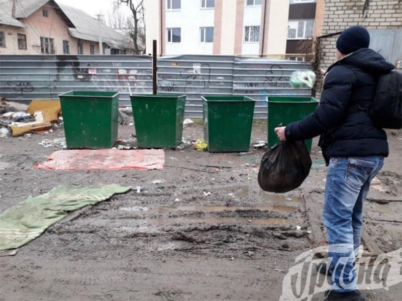 Ковры возле мусорных баков - не от хорошей жизни