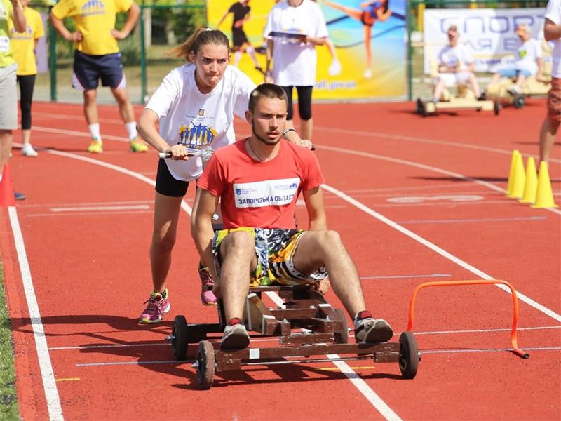 На Херсонщине состоялся всеукраинский фестиваль «Здоровая молодежь - здоровая нация»