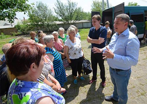 Как херсонцы жителям Донбасса помогали