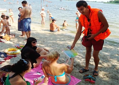 Рятувальники нагадують херсонцям правила безпечного відпочинку на воді