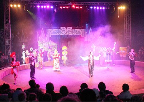 На новогодние праздники херсонцы отправились в цирк!