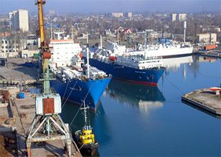 Скадовский морской порт в десятке лучших портов страны