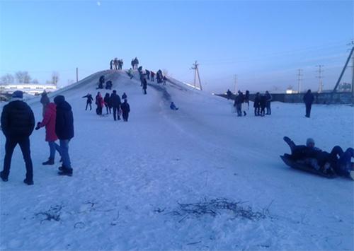 Херсонский горнолыжный курорт