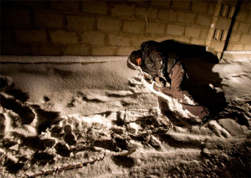 Херсонские больницы заполняются обмороженными горожанами