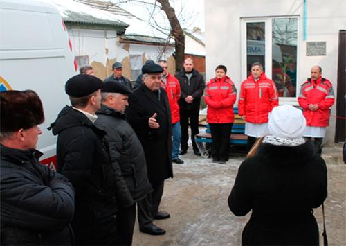 В Скадовську відкрили нове приміщення відділення медичної швидкої допомоги