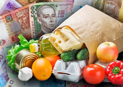 Цены на продовольственные товары на рынках и в магазинах Херсона