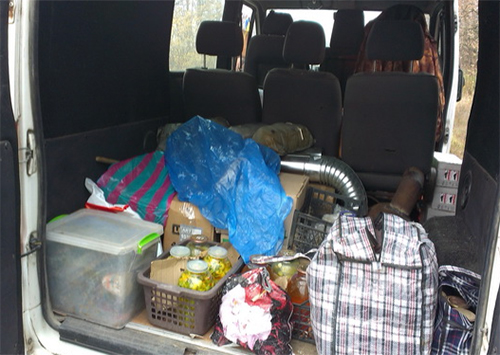 В зону АТО волонтерами доставлена помощь от жителей Херсонщины