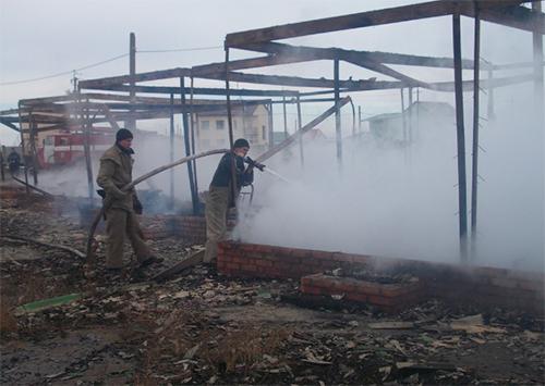 Залізний Порт потерпає від пожеж