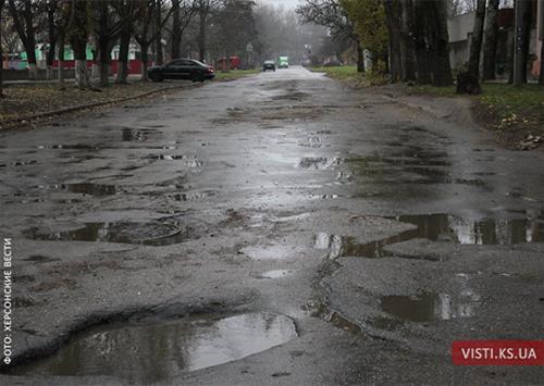 Чому в Херсоні погані дороги?