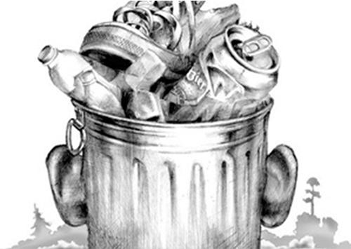 Главное погромче прокричать: Даешь мусорные баки!