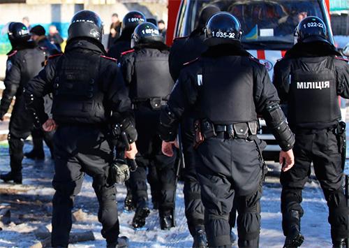Акция радикалов у Апелляционного суда Херсонщины не состоялась