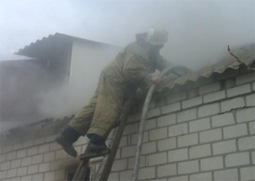 Рятувальники Херсонщини ліквідували пожежу в житловому будинку