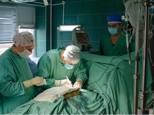 Для инфарктников Херсонщины делают раннее недоступные операции