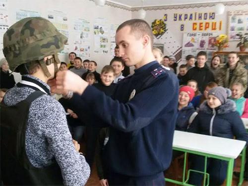 На Херсонщине школьникам рассказывали о безопасности