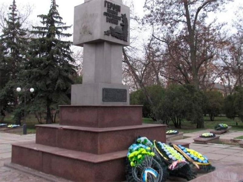Акт вандализма в Новой Каховке