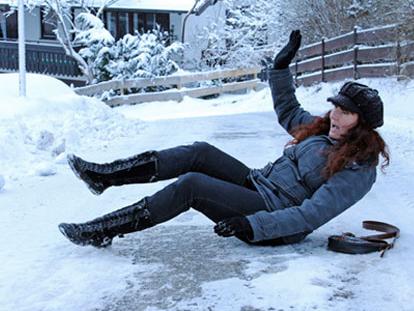 Первые жертвы снегопада в Херсоне