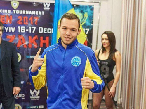 Виталий Дубина вернулся в Херсон из столицы, чтобы заниматься кикбоксингом