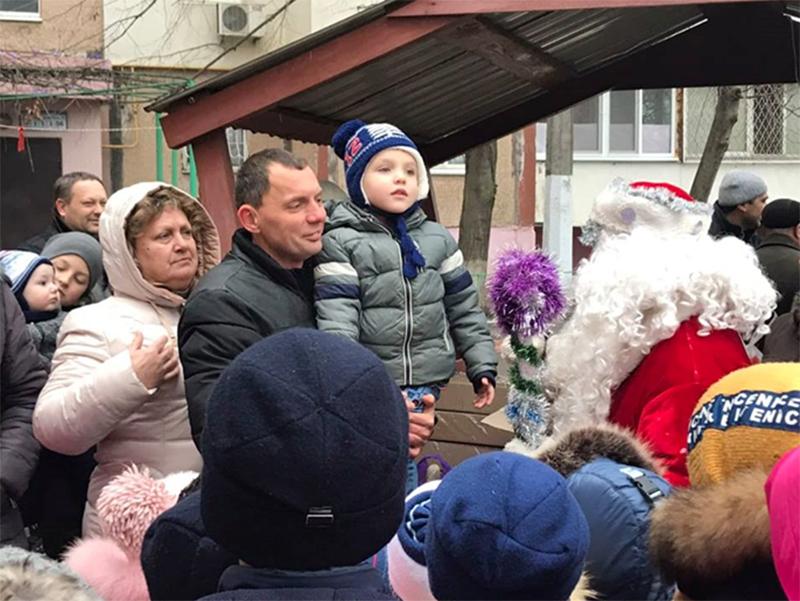 У Херсоні тривають святкування Нового року