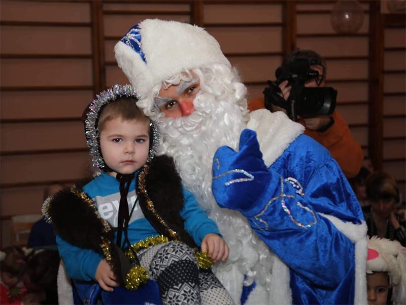 Путилов: Приятно дарить праздник детям