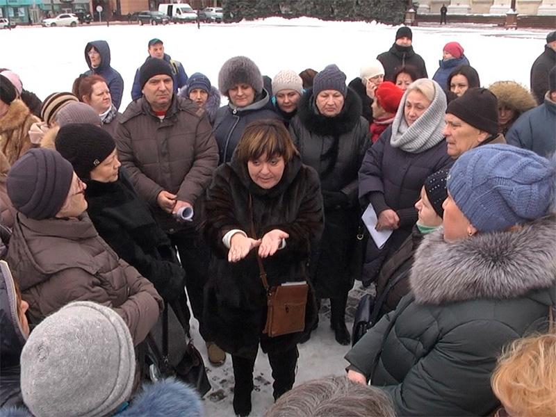 """У Херсоні  """"Енергетичний"""" мітинг зібрав керівників ОСББ"""