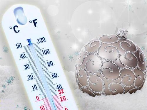 Новогодние праздники с температурными «качелями» на Херсонщине