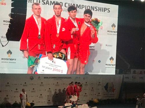 Херсонський спортсмен виборов срібло на Чемпіонаті Світу з боротьби самбо