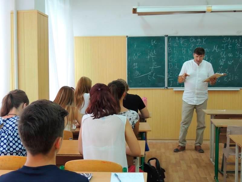 У Херсоні викладає польський професор