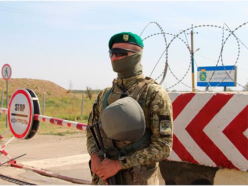 На границе Херсонщины закрыли КПВВ