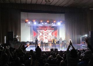 В Херсоне выступили звезды «Х-Фактора»