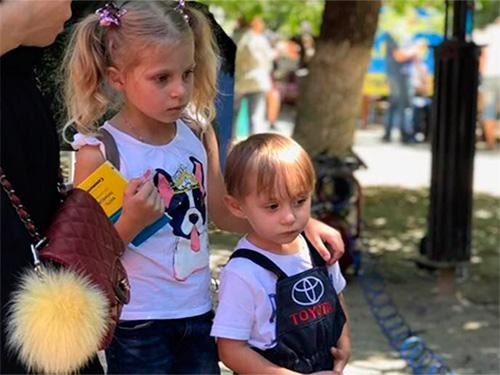 """Маленькие автолюбители в херсонском """"Городе профессий"""""""