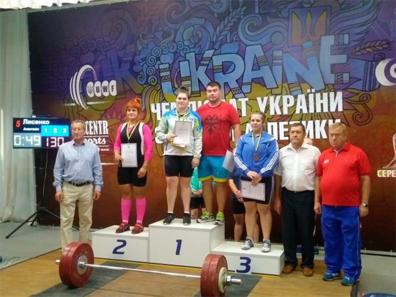 Скадовчани серед призерів Чемпіонату  з важкої атлетики