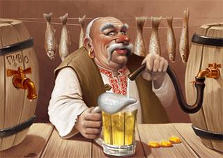 Чешское пиво на Херсонщине