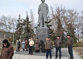 Скадовчане сохранили «своего» Ленина