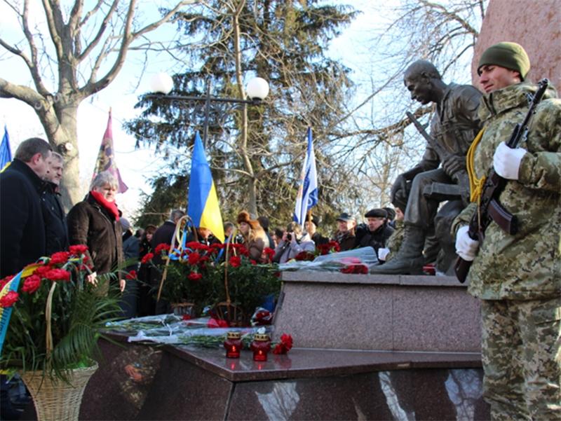 Херсонські прикордонники вшанували воїнів - інтернаціоналістів