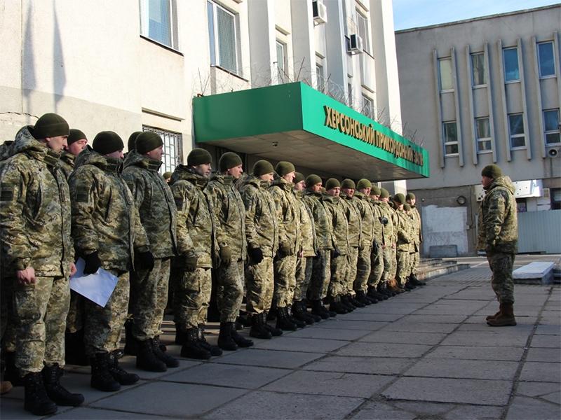 На Херсонщині прикордонники вшанували  пам'ять загиблого Героя України