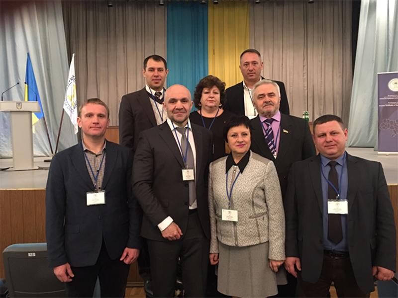 Херсонці на з'їзді Української асоціації районних та обласних рад