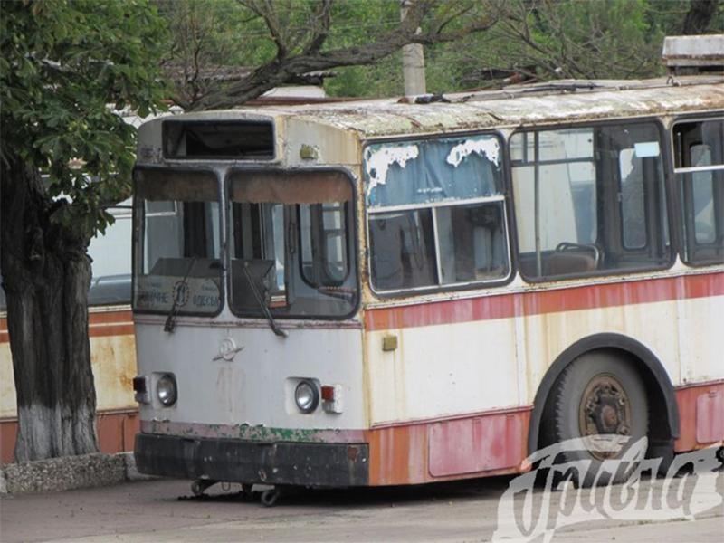 В СБУ вважають, що в Херсоні неправильно списують тролейбуси