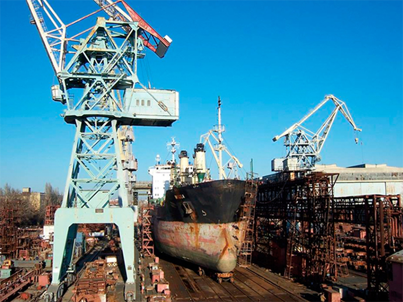 Smart Maritime Group в 2017 году почти вдвое нарастил объемы судоремонта