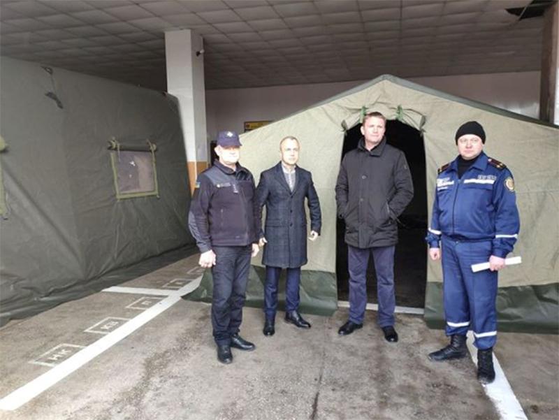 Генічеські рятувальники отримують допомогу від місцевої влади