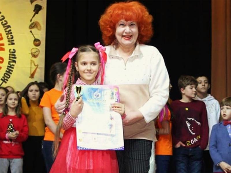 Маленька херсонська театралка підкорила велику сцену
