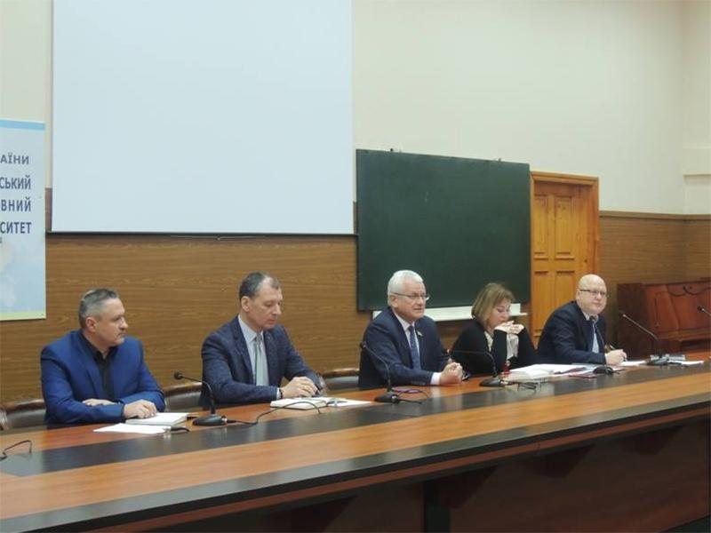 Співаковський взяв участь у засіданні ректорату Херсонського державного університету