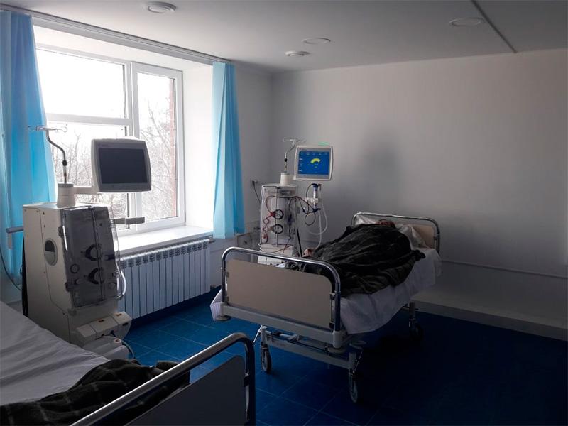 В Геническе начал функционировать филиал Центра гемодиализа