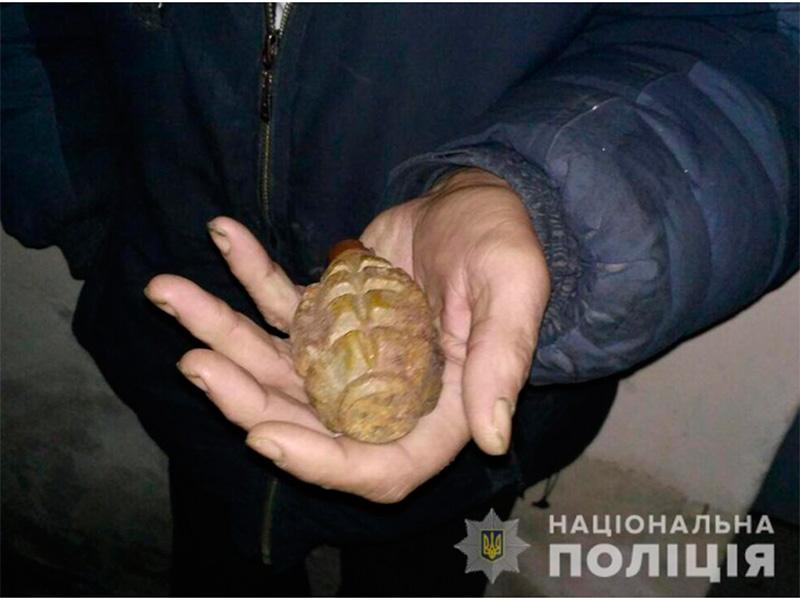 На урок с боевой гранатой пришел школьник на Херсонщине