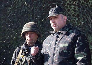 Турчинов подписал указ о частичной мобилизации по всей Украине