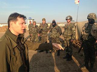 Нардеп Олег Ляшко «поднимал боевой дух» на Херсонщине