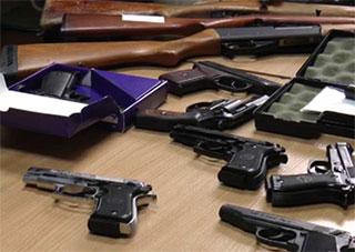 Херсонская милиция всерьез взялась за оружие