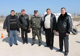 Генерал Пинькас посетил «Золотой берег»