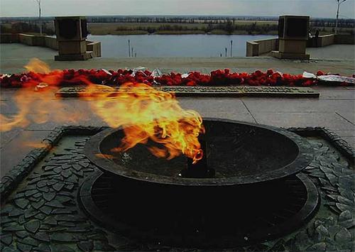 У Херсоні загасили Вічний вогонь