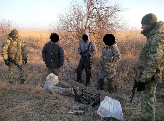На Голопристанщині прикордонники виявили чергових браконьєрів